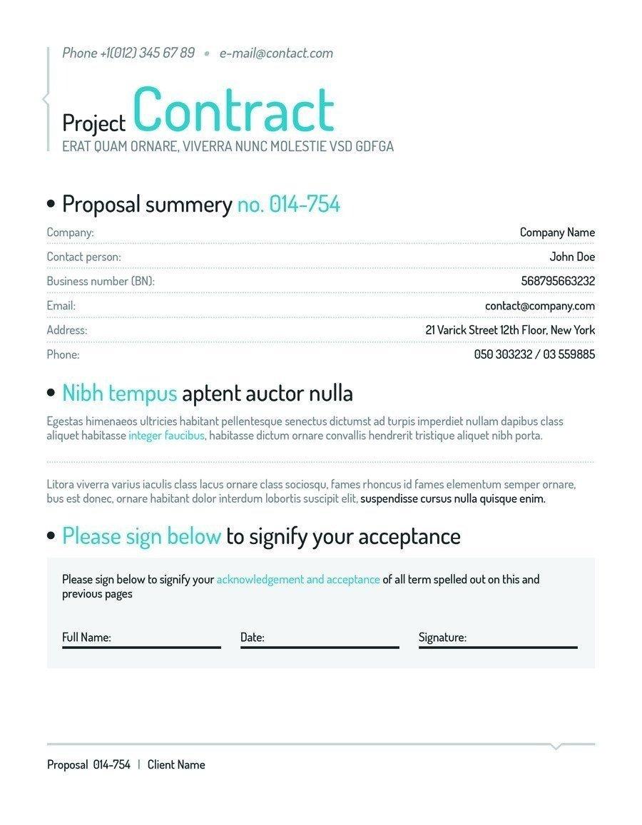 Social Media Management Contract [template] social Media Contract Bonsai