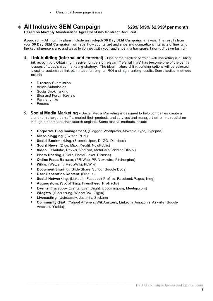 Social Media Marketing Contract 17 Beautiful social Media Consulting Proposal Pics