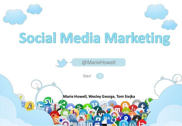 Social Media Ppt Templates social Media Marketing 2012 2013