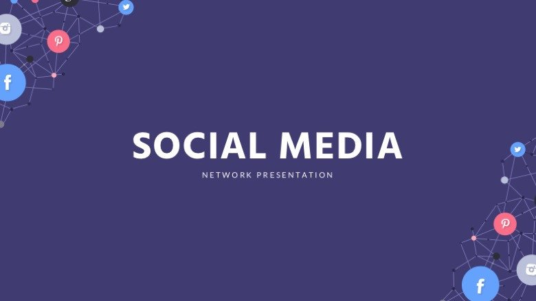 Social Media Ppt Templates social Media Powerpoint Template Free Powerpoint