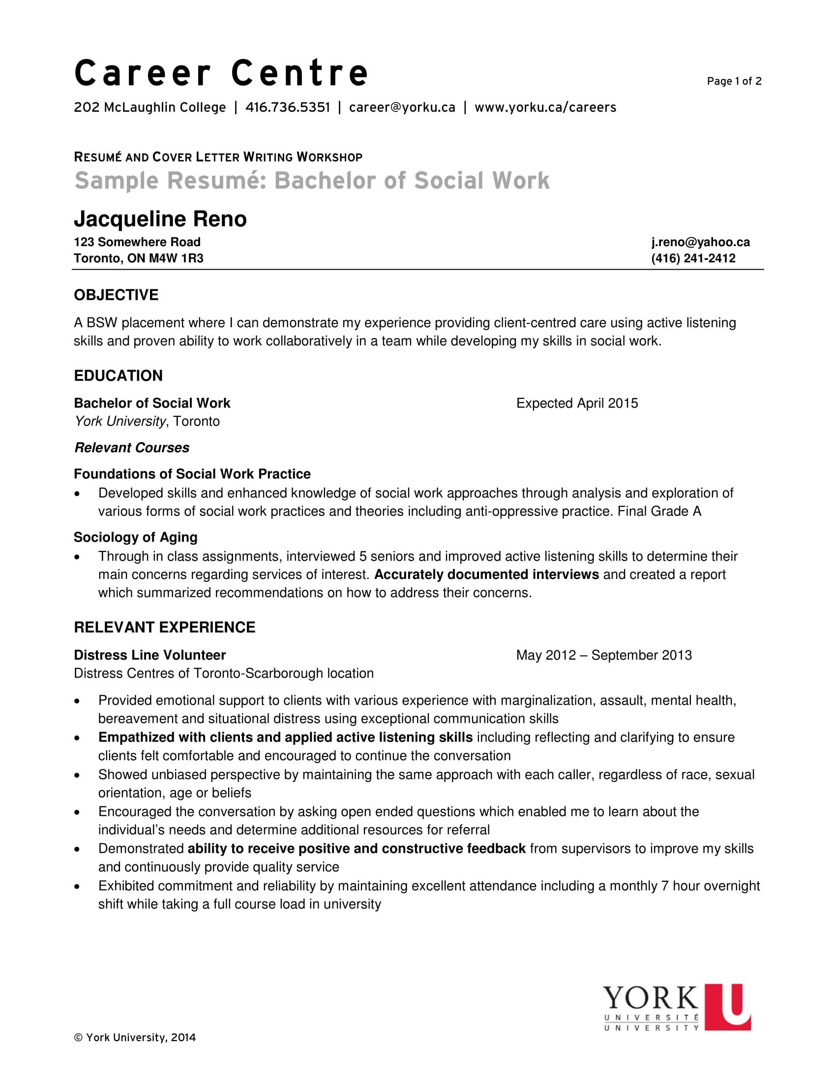 Social Work Resume Template 14 Best social Worker Resume Sample Templates Wisestep