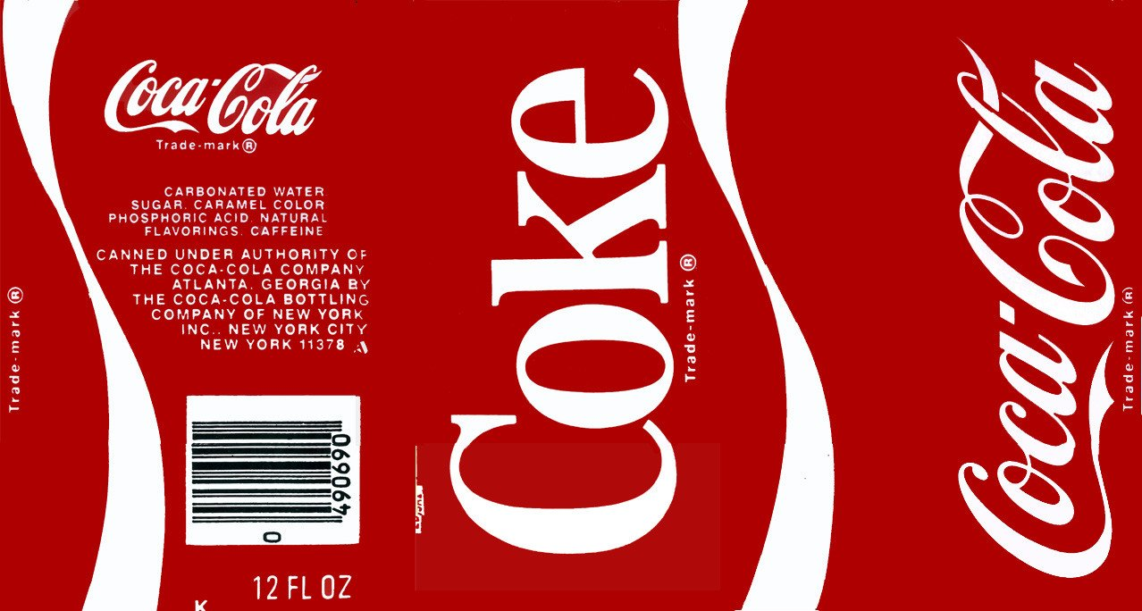 Soda Can Template Printable 27 Of Coke Label Template