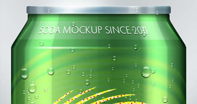 Soda Can Template Printable Psd soda Can Mock Up Template