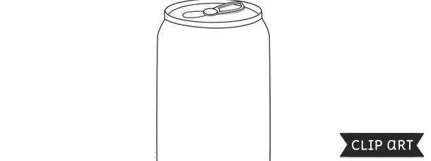 Soda Can Template Printable soda Can Template – Clipart