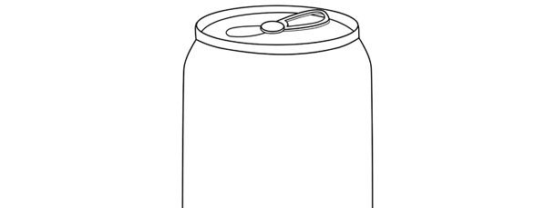 Soda Can Template Printable soda Can Template –