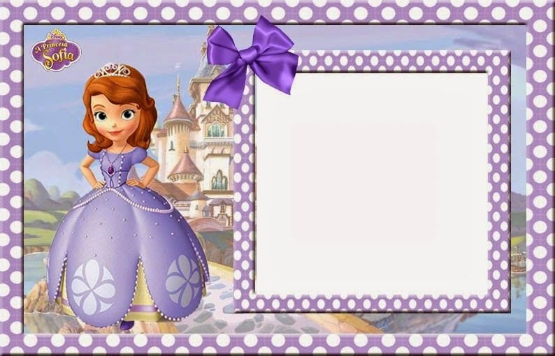 Sofia the First Invitation Templates sofia the First Free Printable Invitations Cards or