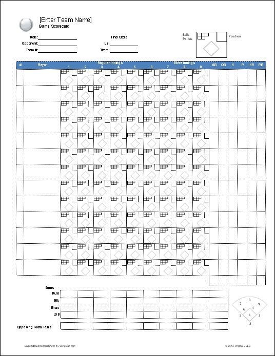 Softball Lineup Template Excel Download A Free Baseball Roster Template for Excel