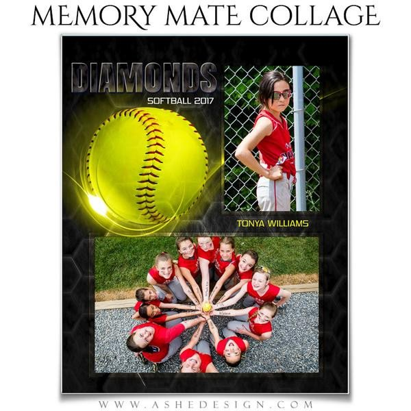 Softball Memory Mate Template ashe Design Sports Memory Mates Honey B