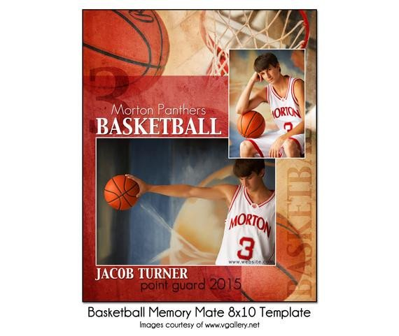 Softball Memory Mate Template Basketball Mm2 8x10 Memory Mate Sports Template