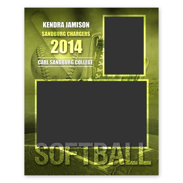 Softball Memory Mate Template softball Sports Memory Mate Template