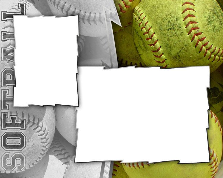 Softball Memory Mate Template softball Templates
