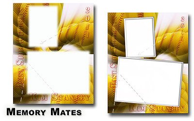 Softball Memory Mate Template Templates Unlimited Search Templates