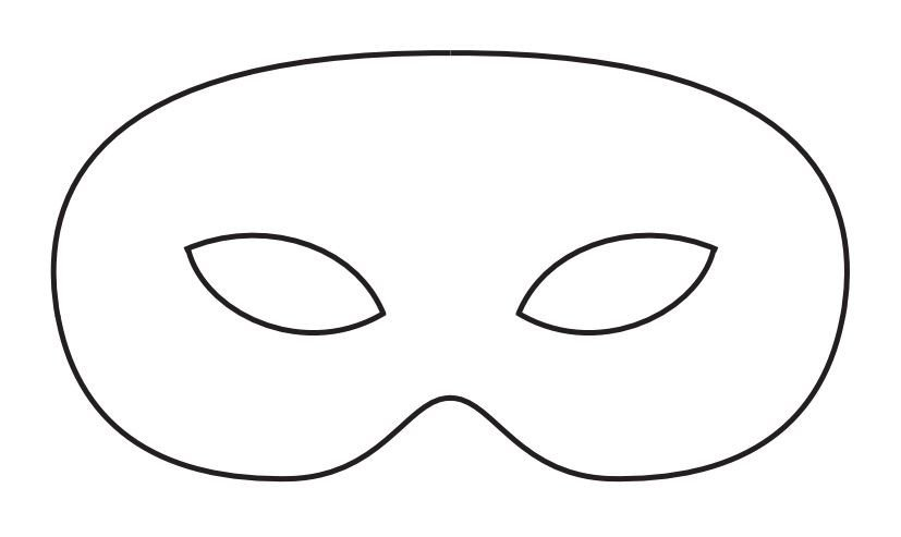 Spa Mask Template 19 Free Mardi Gras Mask Templates for Kids and Adults