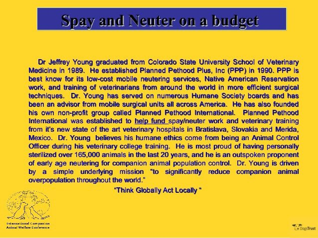 Spay and Neuter Contract Template 2 4 Spay and Neuter On A Bud Dr Jeffrey Young