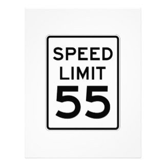 Speed Limit Sign Template 55 Letterhead Custom 55 Letterhead Templates