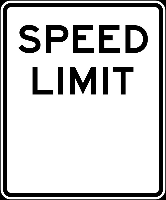 Speed Limit Sign Template File Speed Limit Blank Signg Wikimedia Mons