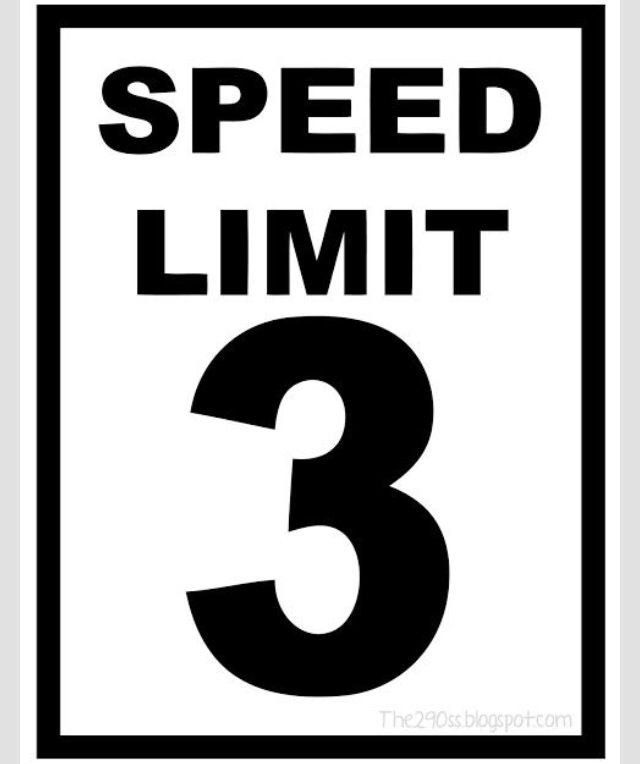 Speed Limit Sign Template Speed Limit 3 Sign for Cars theme