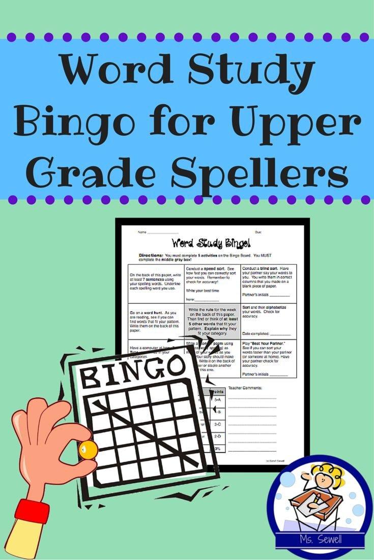 Spelling Bingo Board Best 25 Bingo Board Ideas On Pinterest