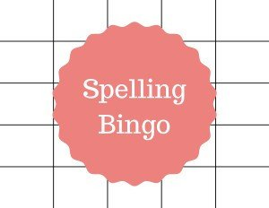 Spelling Bingo Board Creative Ways to Review Spelling Words