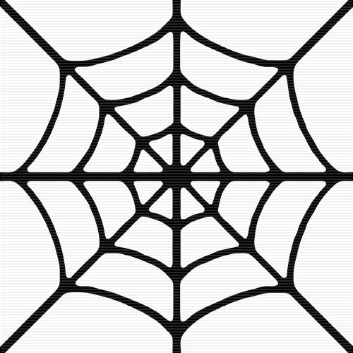 Spider Web Outline Corner Spider Web Clipart