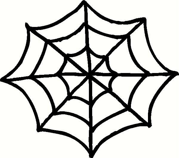 Spider Web Outline Free Spider Web Clipart 3 Clipartix