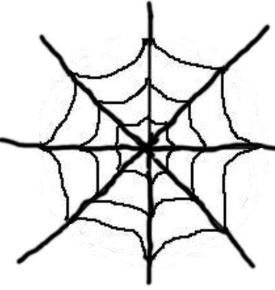 Spider Web Outline Grown Up Spiderweb Cake — Les Petites Gourmettes