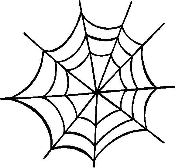 Spider Web Outline Spider Web Outline Clipart Best Holidays