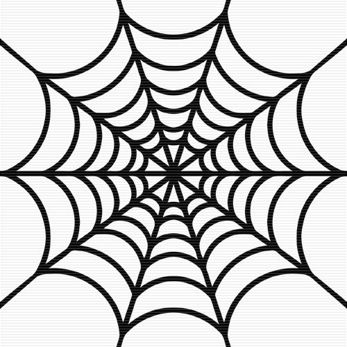 Spider Web Outline Spider Web Outline Clipart Best
