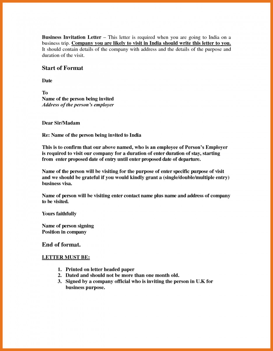 Sponsor Letter for Visa 5 6 Sponsorship Letter for Uk Visa