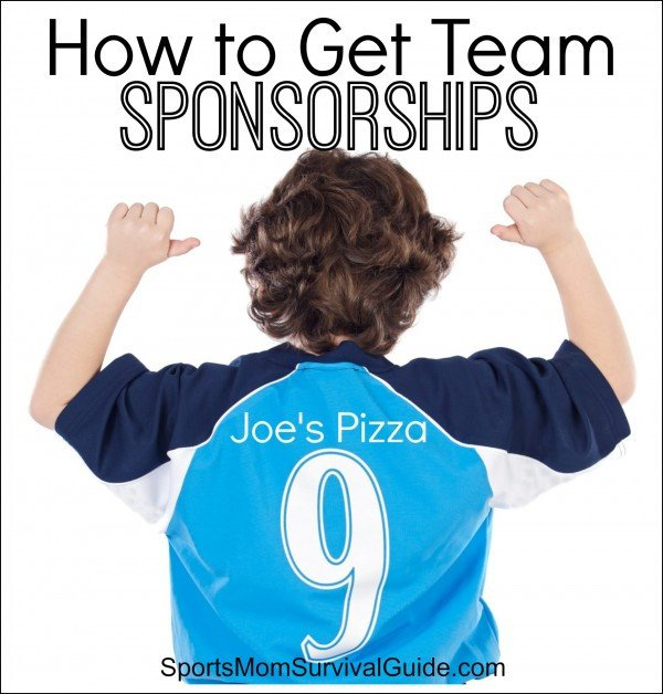 Sponsorship form for Sports Team How to Get Team Sponsorships