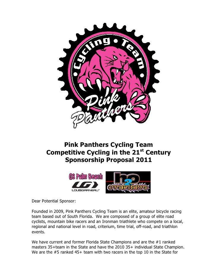 Sponsorship form for Sports Team Sponsor Proposal 2011