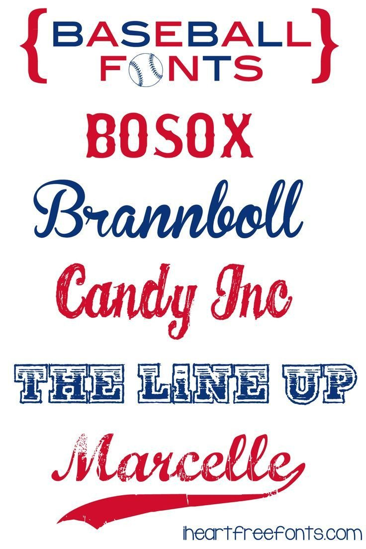 Sports Fonts In Word Free Baseball Fonts Cool Fonts Layout