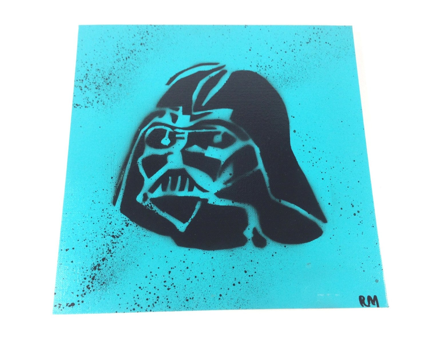 Spray Paint Art Stencils Spray Paint Stencil Art On Canvas Covered Board by
