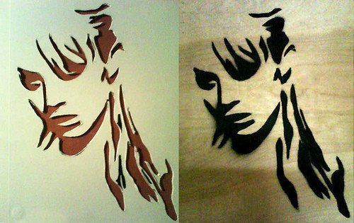 Spray Paint Art Stencils Spray Paint Stencils 6 Tutorials for Making them and 32