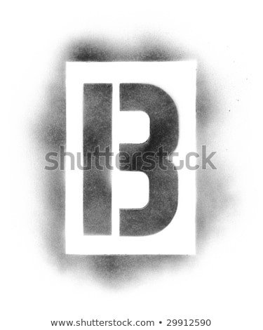 Spray Paint Letter Stencils Stencil Letters Stock S &