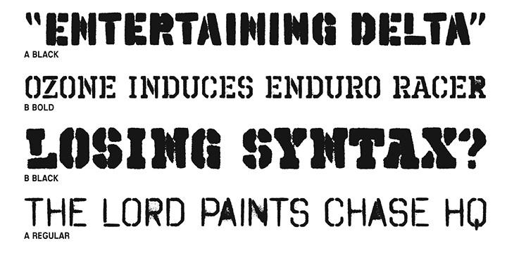 Spray Paint Letter Stencils Stencil Spray Paint Font Google Search