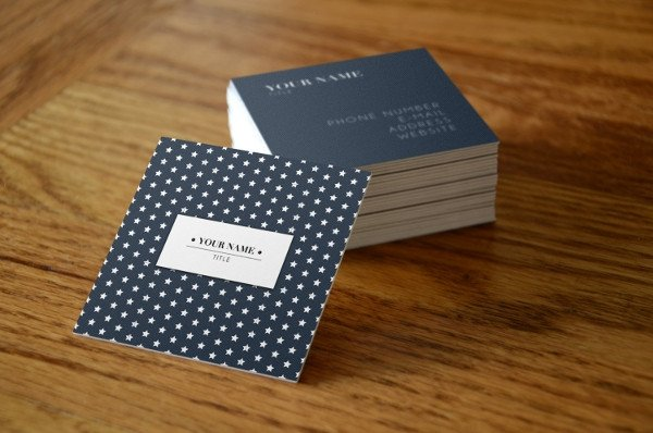 Square Business Card Mockup 26 Creative Square Business Card Templates Ms Word Ai