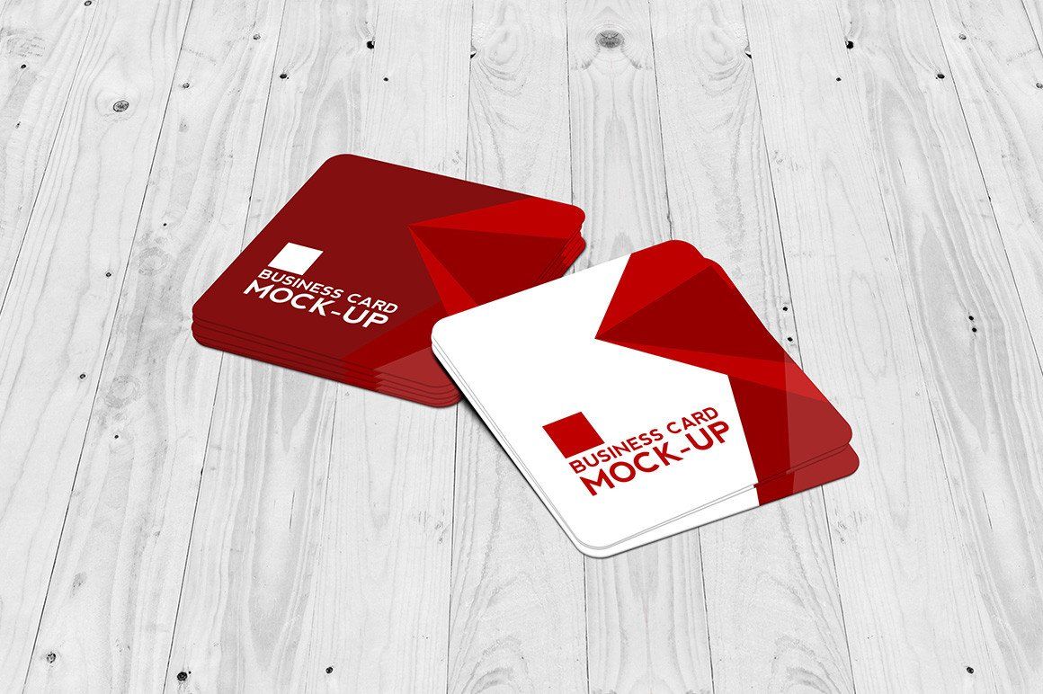 Square Business Card Mockup 30 Latest Psd Mockup Templates to Showcase Your Design