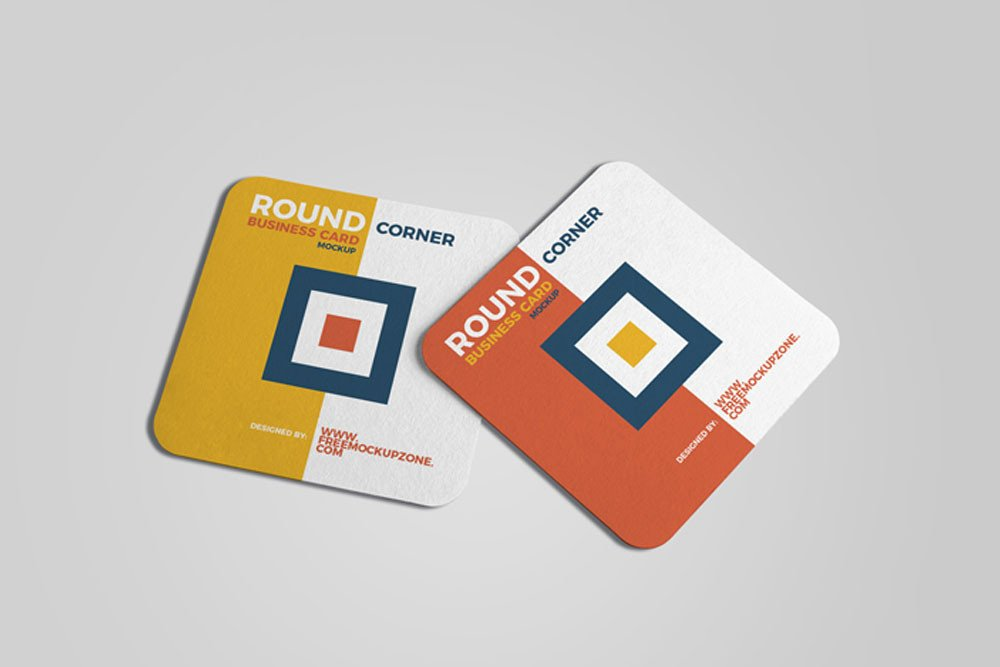 Square Business Card Mockup Download This Free Square Business Card Mockup In Psd