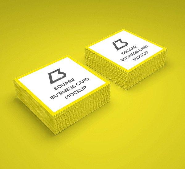 Square Business Card Mockup Free Psd Mockup Templates 30 Fresh Mock Ups