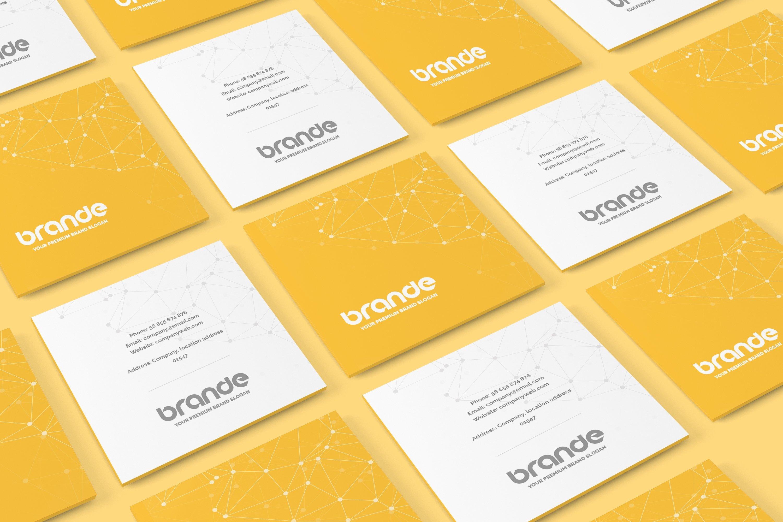 Square Business Card Mockup Square Business Card Mockup Print Mockups Creative Market