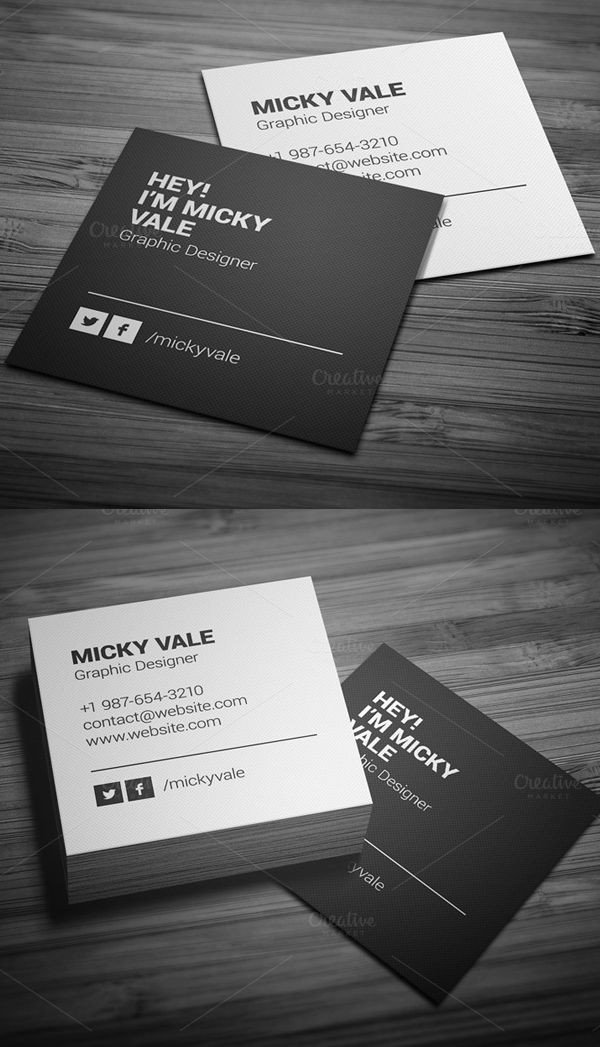 Square Business Card Template 25 Best Ideas About Square Business Cards On Pinterest