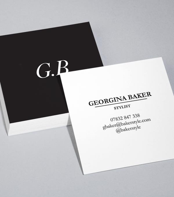 Square Business Card Template Browse Square Business Card Design Templates
