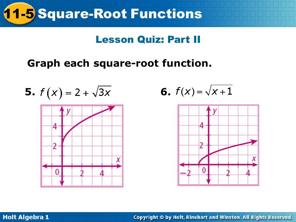 Square Root Curve Chart Square Root Functions Ppt Video Online