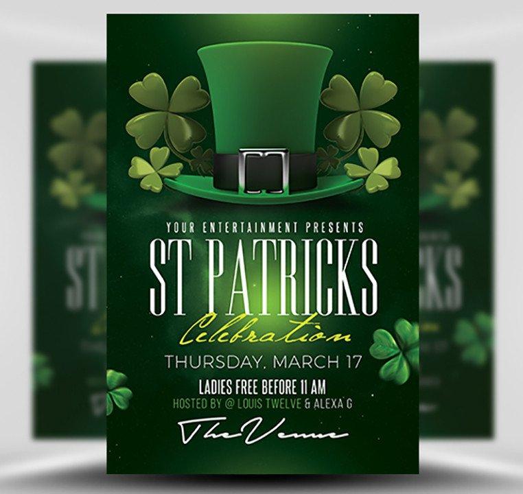 St Patrick Day Flyer St Patrick S Day Flyer Template 3 Flyerheroes