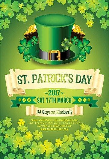 St Patrick Day Flyer St Patrick's Day 2017 – Flyer Psd Template – by Elegantflyer