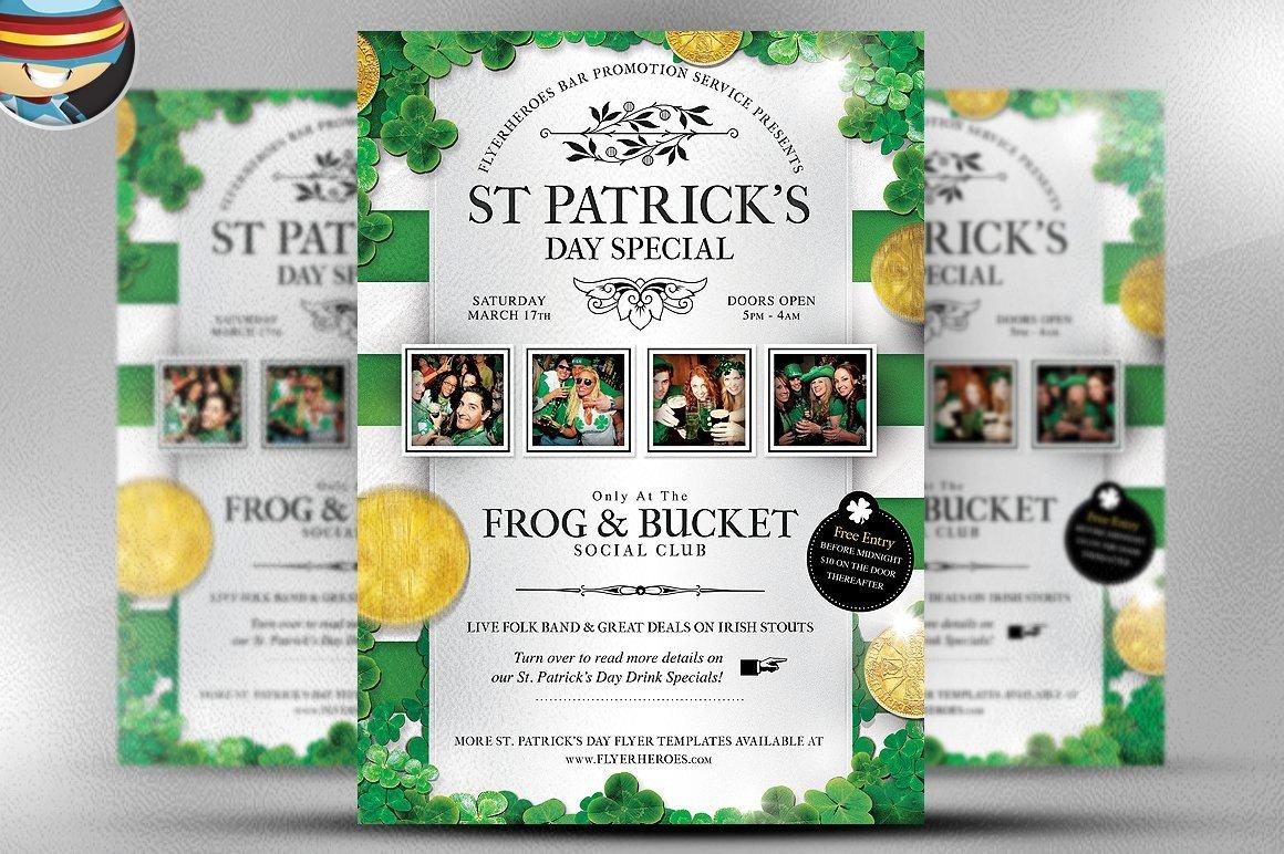 St Patrick Day Flyer St Patrick's Day Flyer Template Flyer Templates