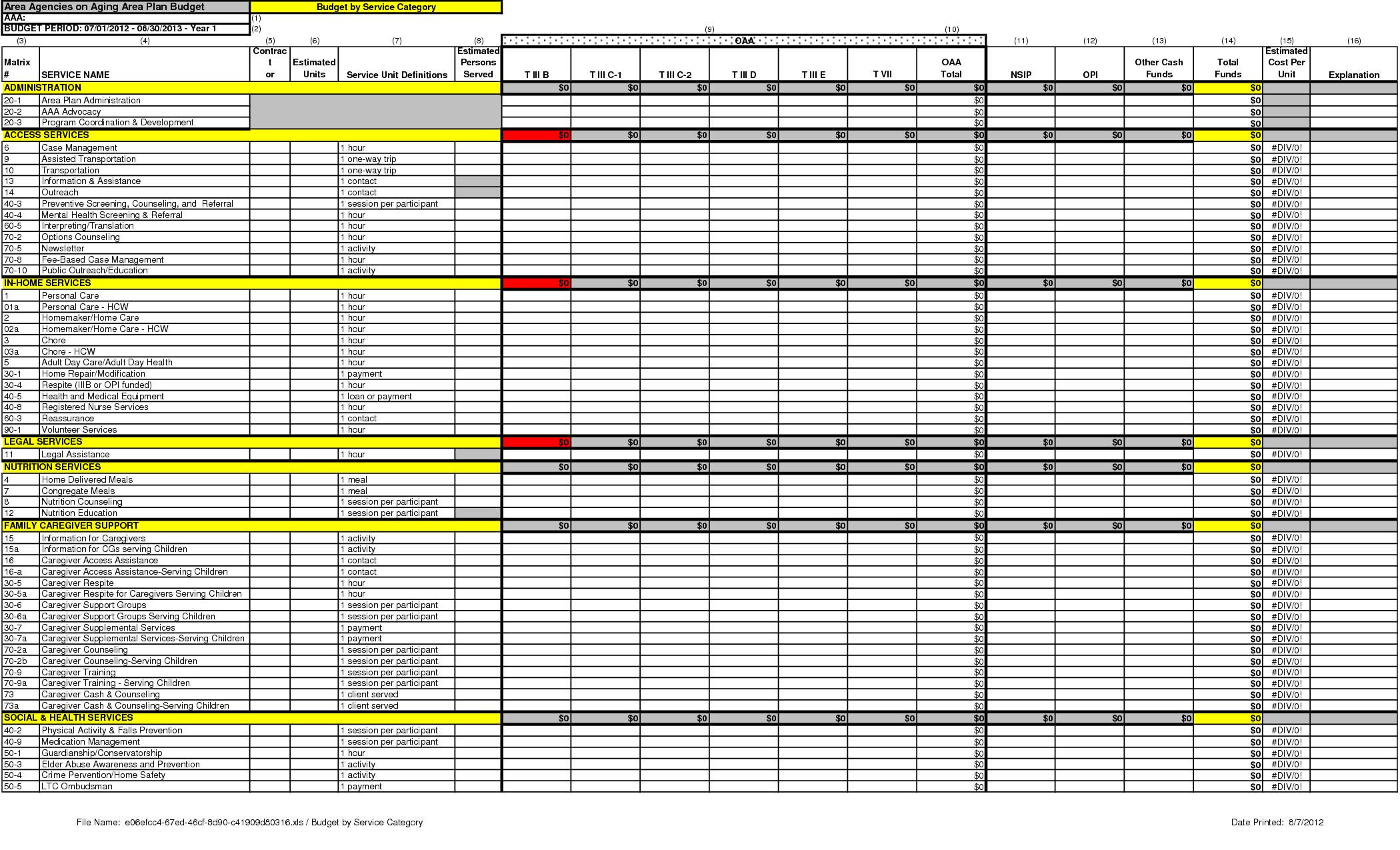 Staffing Matrix Template Michael Redding › Credit Suisse