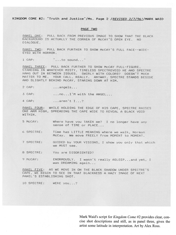 Stage Play format Template Graphic Novel Script format