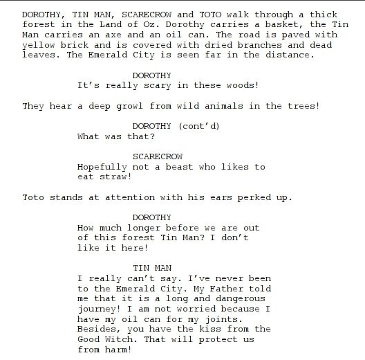 Stage Play format Template Need A Script